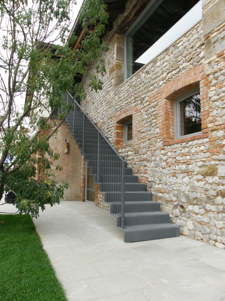 Gallery scale e soppalchi clemente contin - Scale da esterno in muratura ...